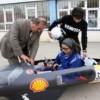 Liseli öğrenciler lityum batarya ile çalışan araç ürettiler
