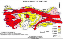 Türkiye'nin  Yenilenen Deprem Haritasında Jeoloji Mühendisleri Odasının Görüşleri Alınmaması Düşündürücü