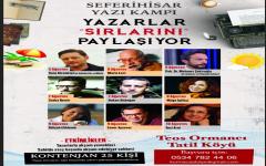 Yazarlar  Sırlarını  Seferihisar'da  Paylaşacak !