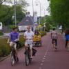 Plastik Bardaklar ve Şişe Kapaklarından Bisiklet Yolu