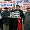 Türkiye polis Emeklilerin  Ankara'da sessiz çığlığı
