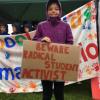 15 Yaşında Bir Kız Öğrenci, Ama Grevde. Onun Kadar Olamadık.Dünya OnuKonuşuyor.