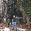 Bursa Oylat Mağarası'na Giren Terliyor