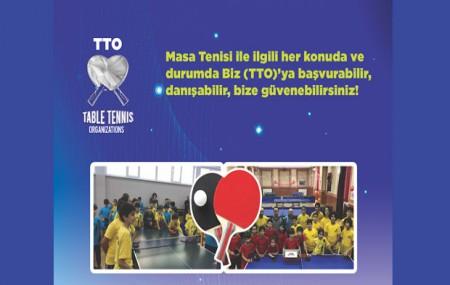 """""""TTO"""" kendi markası ile bir Masa Tenisi Salonu açıyor"""