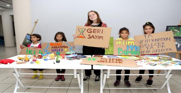 Nilüferli çocuklardan iklim adaleti çağrısı