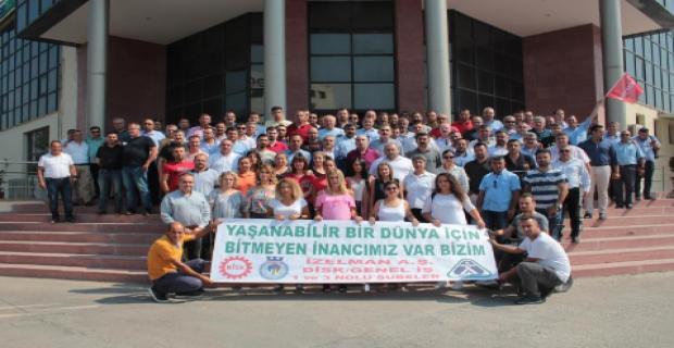 İZELMAN işçilerinden ağaçlandırma kampanyası