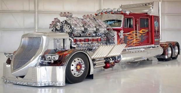3.974 beygirlik inanılmaz kamyon 12 milyon dolara alıcı buldu