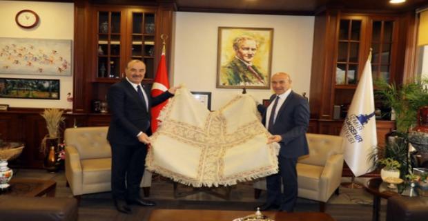Bursa Mudanya Belediye Başkanı Türkyılmaz Tunç Soyer ile Cittaslow için buluştu