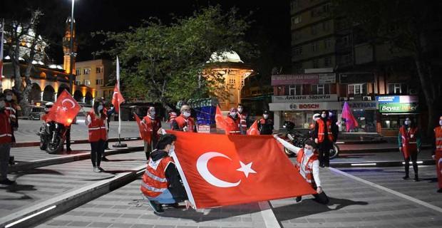 Bursa Osmangazi Kızılaydan Coşkulu 23 Nisan kutlaması