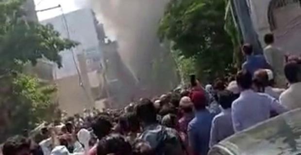Pakistan'ın Karaçi Kenti Yerleşim Merkezine Yolcu Uçağı Düştü