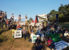 Yaşam alanı savucuları engellemeye rağmen Kaz Dağlarını savunmaya devam ediyor