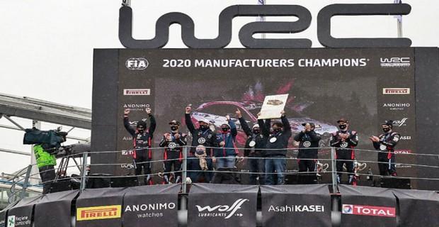 Covid-19 salgını gölgesinde geçen zorlu 2020 WRC sezonu Hyundai Motorsport'un zaferi ile bitti