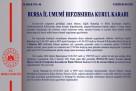 Bursa Valiliği Kovid-19 tedbirleri kapsamında alınan kararları duyurdu.