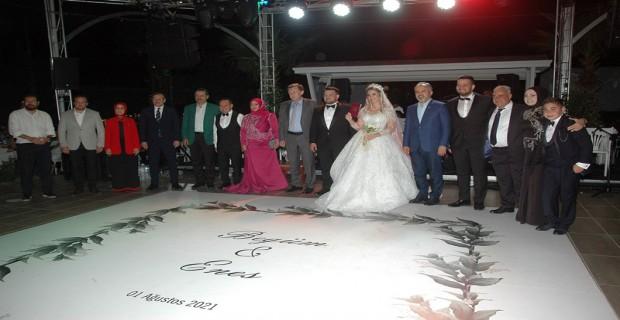 İş ve siyaset dünyasını bir araya getiren görkemli düğün
