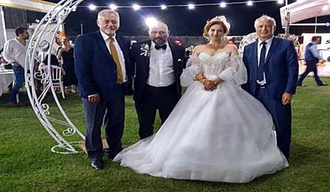 Spor ve siyaset dünyasını bir araya getiren Muhteşem düğün