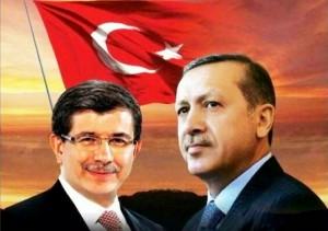 Cumhurbaşkanı Recep Tayyip Erdoğan, Başbakan Ahmet Davutoğlu'nu Yıldız Mabeyn Köşkü'nde kabul etti