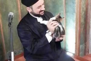 İmam Mustafa Efe'nin kedi sevgisi kimsenin 'görmediğini' görmesi