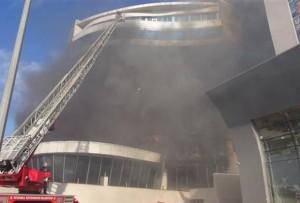 İstanbul'da Otel Yangını