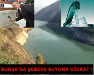 """""""Bursa'da su skandalı"""" çeşme sularındaki ağır koku vatandaşı korkuttu !"""