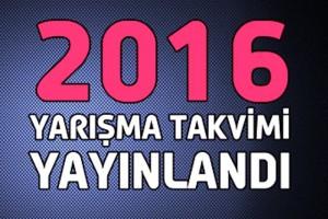 Tosfed 2016 Yarış Takvimi Açıklandı