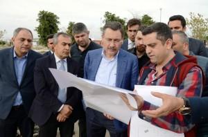 Melih Gökçek Expo 2016 Antalya'yı Gezdi