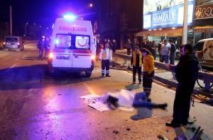 Bursa'da alkollü sürücü dehşet saçtı 1 ölü 2 yaralı