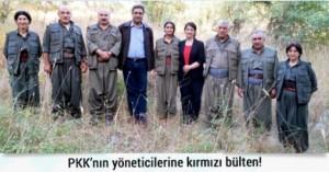 PKK'lı Liderler için kırmızı bülten talebi