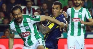Torku Konyaspor'a konuk olan Fenerbahçe, 2-1 mağlup oldu