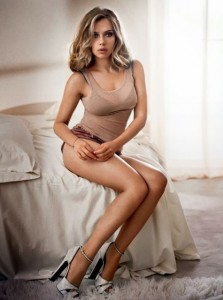 Süper Anne Scarlett Kusursuz Vücudu İle Dikkat Çekti
