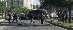 Diyarbakır'da Pkk'lı teröristlerce polis ekiplerine yönelik bombalı saldırıda 3 Ölü 45 Yaralı