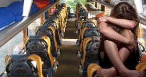 Metro Turizm muavini tarafından cinsel tacize uğrayan kadın