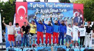 Sinop'ta TEXXOFF Takımı Kazandı