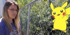 Genç kız oyun karakterini yakalamak için yürüyüş yaparken ceset buldu