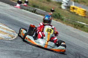 Uşak Pistinde Karting Yarışı