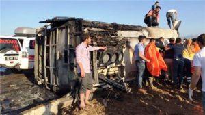 Bingöl'de PKK'lılardan polis aracına bombalı saldırı 6 polisimiz şehit oldu
