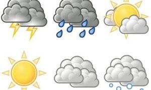 Yağışlar ile hava sıcaklığı azalacak