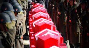 Şırnak ve Mardin  Derik'teki çatışmalarda 10 asker şehit oldu