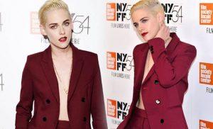 """""""Certain Women"""" Film Galasına Kristen Stewart Şıklığı"""
