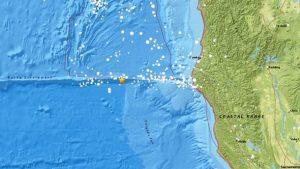 ABD'nin Kaliforniya açıklarında 6,9 büyüklüğünde deprem