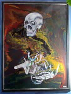 Ünlü resim ve heykel sanatçısı Erdinç sakin'in 20. yıla özel resim sergisi