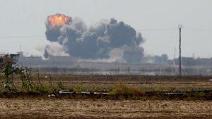 T.S.K hava saldırısı düzenledi toplam 48 DEAŞ mensubu öldürüldü