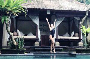 İnna dinlenmek için Bali'yi seçti