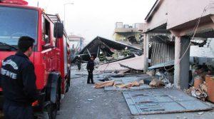 Gaziantep Sanayi Sitesinde Patlama!