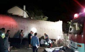 Yunanistan'da yolcu treni raydan çıktı 4 ölü 5 yaralı