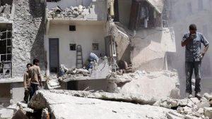 İdlib'e düzenlenen hava saldırılarında 40 sivil hayatını kaybetti
