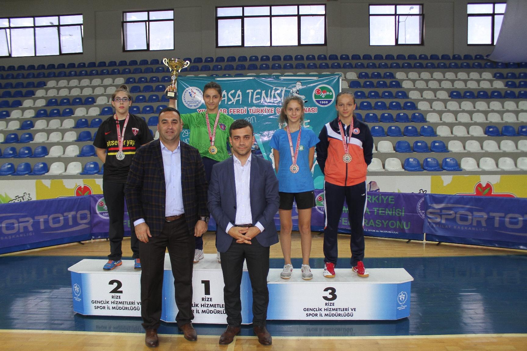 Yıldızlar Türkiye Şampiyonası Rize'de yapıldı
