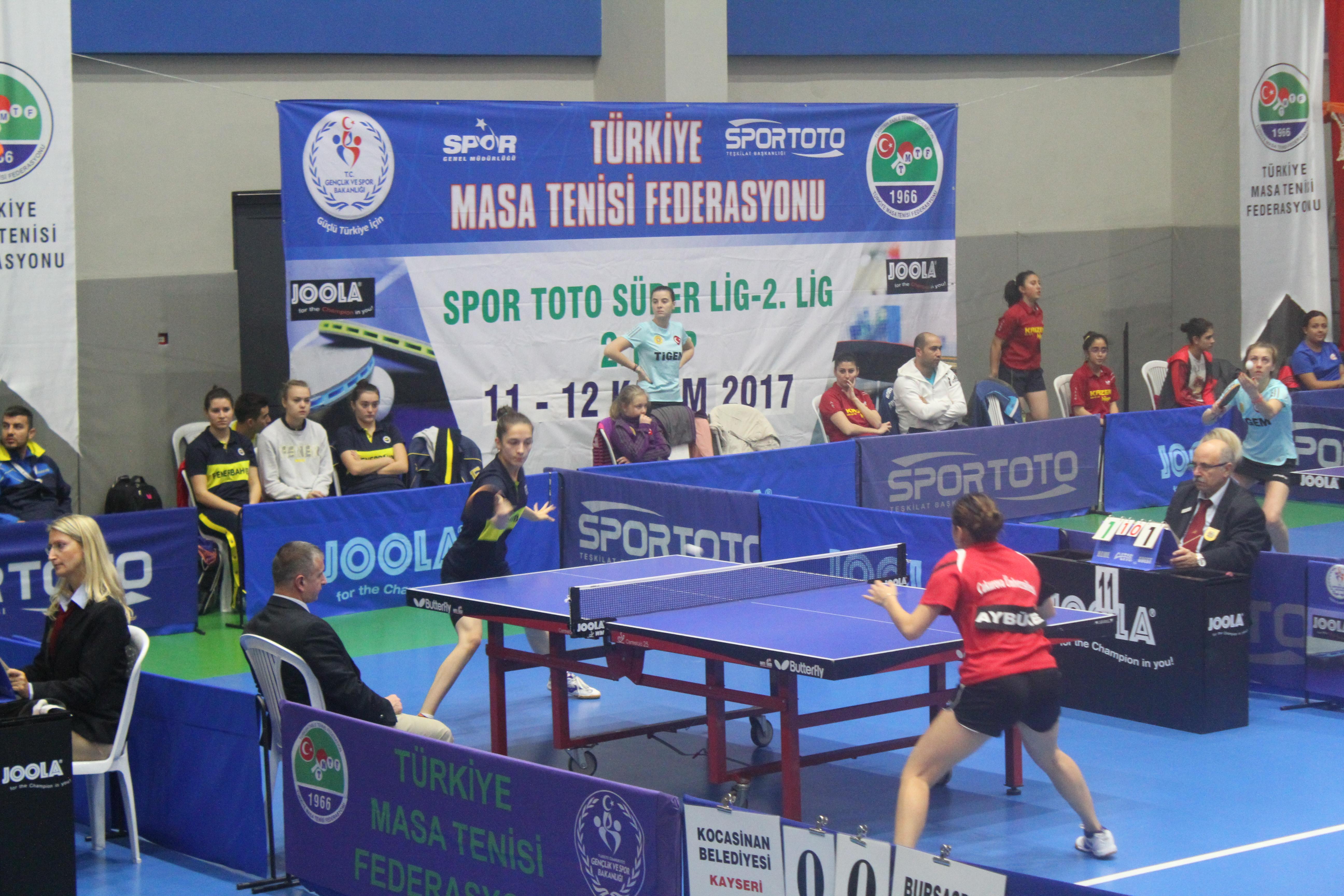 Masa Tenisi heyecanı İstanbul'da yaşandı