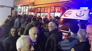 Zonguldakta tehlikeli gelişme