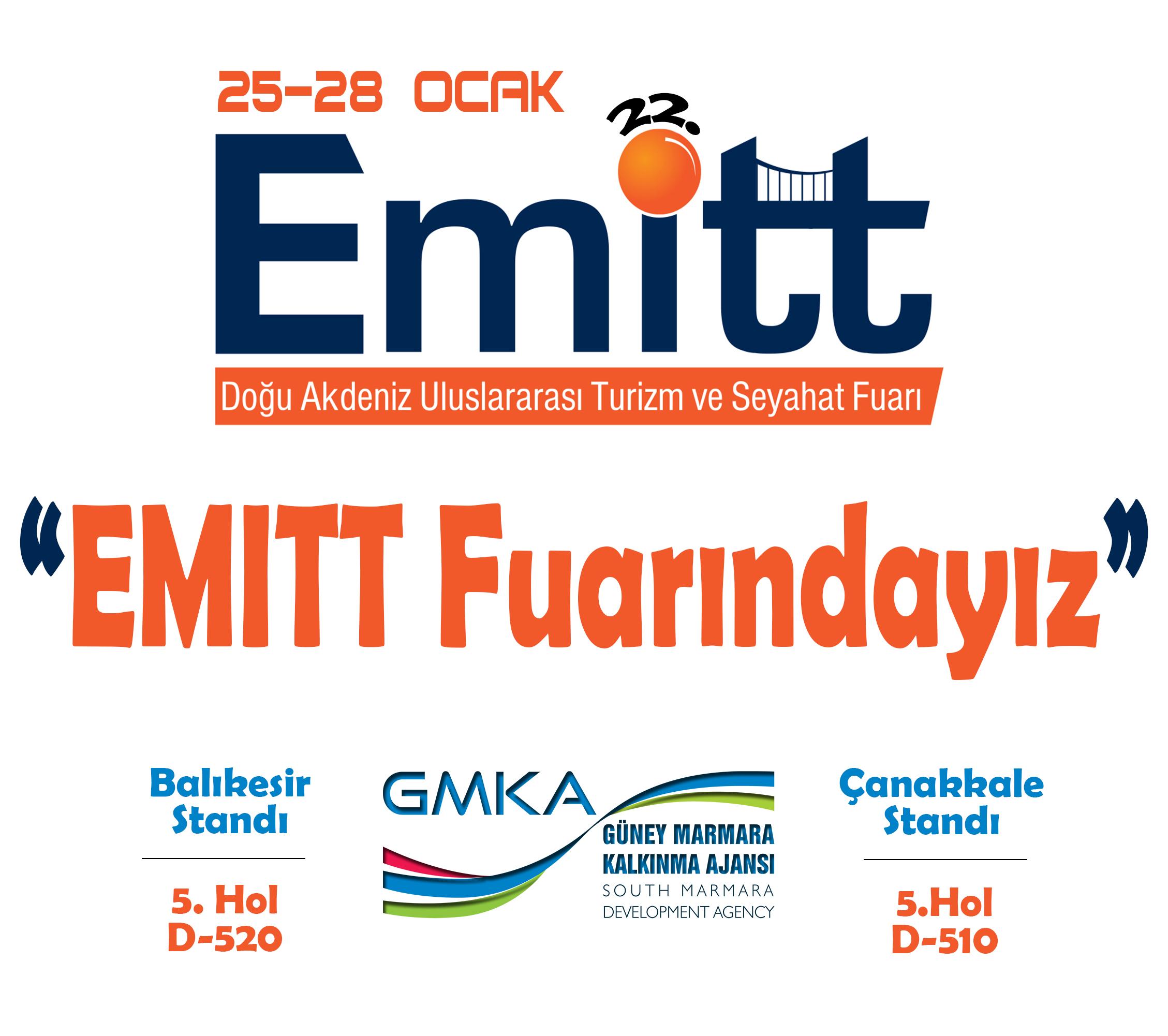 Güney Marmara Kalkınma Ajansı EMITT Turizm Fuarı'na Hazır