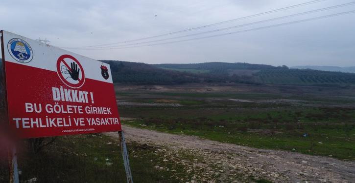 Bursa'da Ağustos Değil Ocak Ayında Gölet Kurudu